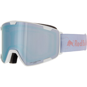 Red Bull SPECT Park Lunettes de protection, white-ice blue snow